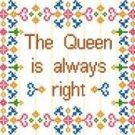 "6021 Queen Needlepoint Canvas 7-1/2"" x 10-1/2"""