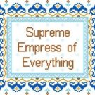 "6023 Supreme Empress Needlepoint Canvas 7-1/2"" x 9-1/2"""