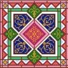 "6947 Geometric Needlepoint Canvas 7"" x 7"""