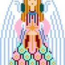 2032F Christmas Angel Needlepoint Canvas