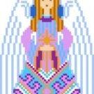 2031F Christmas Angel Needlepoint Canvas