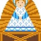 2029F Christmas Nativity Jesus Needlepoint Canvas