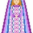 2028F Christmas Nativity Mary Needlepoint Canvas