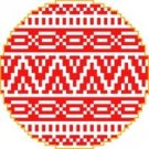 1358 Christmas Ornament Needlepoint Canvas