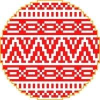 1358 Christmas Ornament Needlepoint Canvas