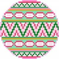 2020 Christmas Ornament Needlepoint Canvas