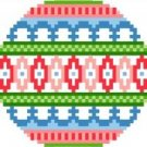 2019 Christmas Ornament Needlepoint Canvas