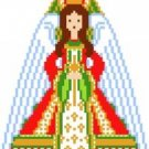 2013 Christmas Treetop Angel Needlepoint Canvas