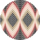 6900 Optical Geometric Needlepoint Canvas