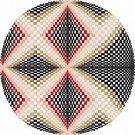 6058 Optical Geometric Needlepoint Canvas