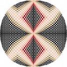 6057 Optical Geometric Needlepoint Canvas