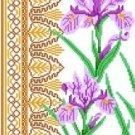 6068 Iris Floral Needlpoint Canvas
