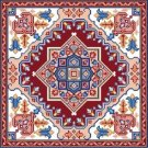 "4256 Persian Needlepoint Canvas 14"" x 14"""