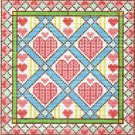 6213 Hearts Needlepoint Design