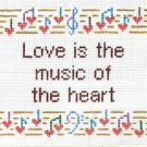 6217 Love Saying Needlepoint Design
