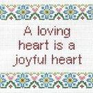 6220 Love Saying Needlepoint Canvas