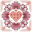 6208 Ming Heart Needlepoint Canvas