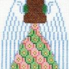 7113 Angel (back) Needlepoint Canvas