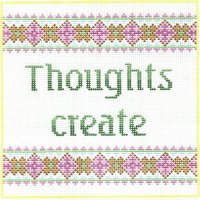 7119 Thoughts Create Needlepoint Canvas