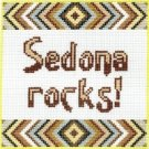7109 Sedona Rocks Needlepoint Canvas