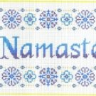 7124 Namaste Needlepoint Canvas