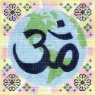 7139 Earth Om Needlepoint Canvas