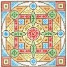 7128 Mandala Needlepoint Canvas
