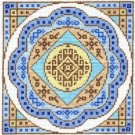 7127 Mandala Needlepoint Canvas
