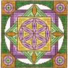 7126 Flower of Life Mandala Needlepoint Canvas