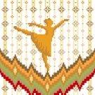 6239 Dancer Needlepoint Canvas
