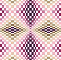 6230 Optical Geometric Needlepoint Canvas