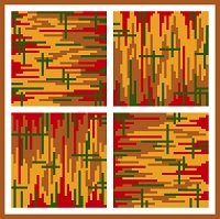 6237 Abstract Needlepoint Canvas