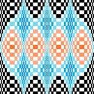 6259 Optical Geometric Needlepoint Canvas