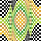 6260 Optical Geometric Needlepoint Canvas