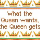 6142 Queen Needlepoint Canvas