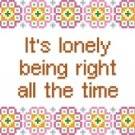 6198 Sayings Needlepoint Canvas