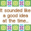 6206 Sayings Needlepoint Canvas