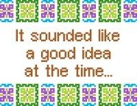 6206 Sayings Needlepoint Canvas