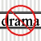 6181 No Drama Needlepoint Canvas