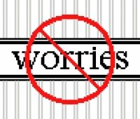6182 No Worries Needlepoint Canvas