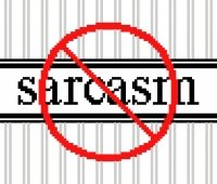 6185 No Sarcasm Needlepoint Canvas