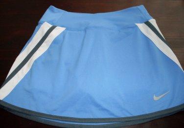 Nike Women Sporty Skirt, Tennis Skort, Blue Size XS Dri-Fit