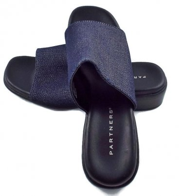 Clogs Mules Slip On Women Sandals by PARTNERS Size 6 1/2 M