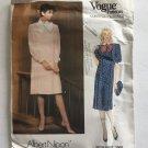 Vogue Vintage Loose Fitting Dress Size 16 Sewing Pattern 1302 By Albert Nipon