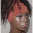 Natural Hair Accessories-Headband-Tube-Locs- Rust Brown-Virtuous Creations