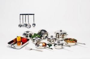 NEW 29pc Chefs Secret Cookware Set