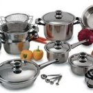 NEW 22pc Chefs Secret Cookware Set