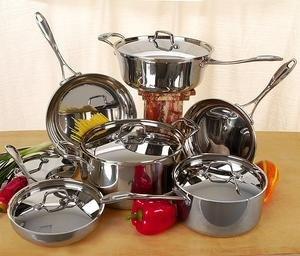 NEW 11-piece Tri-Ply Laurel Creek cookware Set