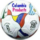 Soccer Ball With Champion Countries Flags