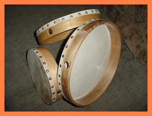 Hand Drums - Set of Three